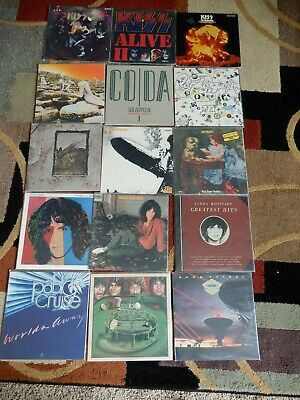 VINYL ALBUM MUSIC RECORDS  LP ROCK 70S80S Classic Rock  COMBINED SHIPPING