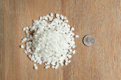 100 Pure White Beeswax Pellets 1 oz to 20 LBS 5 Pounds Natural FREE SHIPPING