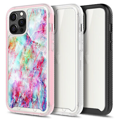 For iPhone 12Mini11Pro Max Full Body Rugged Case - Built-In Screen Protector
