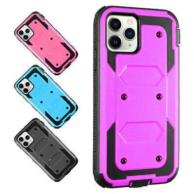 For iPhone Se 202011 Pro Xs78 Slim Holster Hard Case Cover wStand Belt Clip