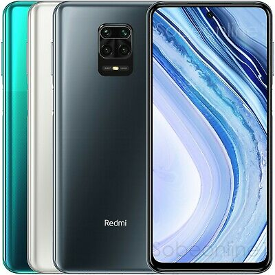 Xiaomi Redmi Note 9 Pro 64GB 6GB RAM (FACTORY UNLOCKED) DualSIM Global 6.67 64MP