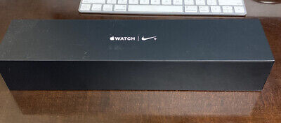 Apple Watch Nike Plus Nike- - Series 2 38mm Space Gray Sport Band EMPTY BOX ONLY