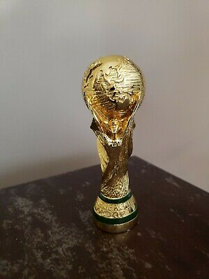 FIFA World Cup trophy replica FOOTBALL SOCCER  13mm