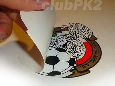 Soccer World Cup Mexico Full Color Inside Window Decal Sticker NEW