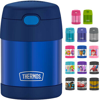 Thermos 10 oz- Kids Funtainer Vacuum Insulated Stainless Steel Food Jar