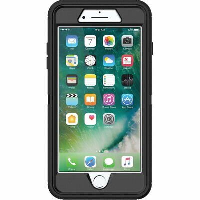 OtterBox DEFENDER SERIES Case - Holster for iPhone 7  iPhone 8 - Black