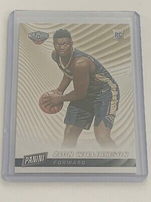 2019-20 Panini Zion Williamson Rc Cyber Monday Sp Rookie Pelicans Hot