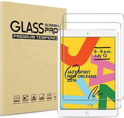 Tempered glass screen protector for iPad 10-2 9-7 7th 5th 6th Air Pro Mini 2 3 4