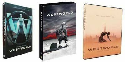Westworld Complete Seasons 1-3 DVD 9-Disc Set BRAND NEW - FACTORY SEALED