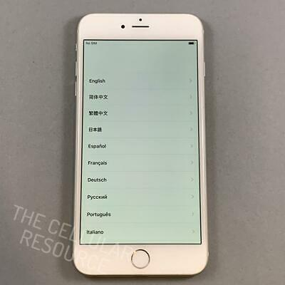 iPhone 6 Plus 16GB AT-T Cricket A1522 Silver White Fully Tested No Touch ID