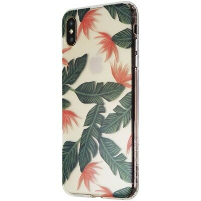 Platinum Hardshell Case for Apple iPhone XS Max Smartphone - Palm Trees/Clear