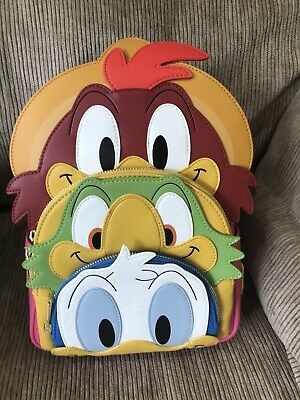 Loungefly Disney The Three Caballeros Mini Backpack New In Hand