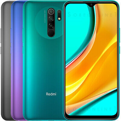 Xiaomi Redmi 9 64GB 4GB RAM (FACTORY UNLOCKED) 6.53 5020 mAh Dual SIM (Global )