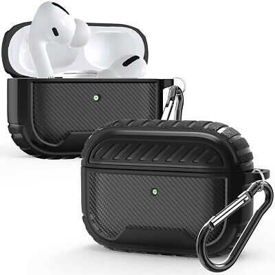 Apple AirPods Pro Case Slim Rugged Armor Matte Heavy Duty Shockproof Cover