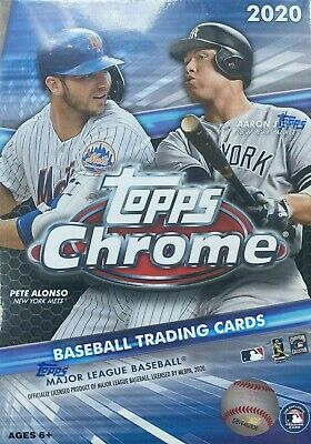 2020 Topps CHROME Baseball Blaster Box 4 SEPIA REFRACTOR Try for Luis Roberts RC