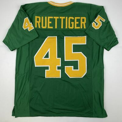 New RUDY RUETTIGER Notre Dame Green College Custom Stitched Football Jersey XL