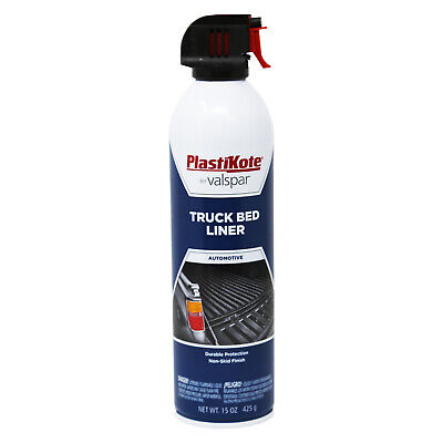 PlastiKote By Valspar Truck Bed Liner - 15 oz- Durable Protevtion BRAND NEW