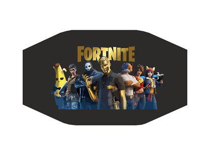 Face Cloth Fortnite  for Kids  Masks Small Size 4-8Years