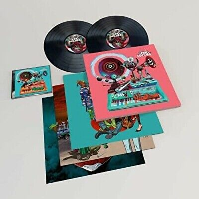 Gorillaz - Song Machine Season One - Deluxe LP New Vinyl LP Deluxe Ed