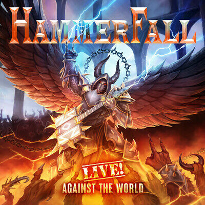 Hammerfall - Live Against the World New CD With Blu-Ray Digipack Packaging
