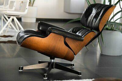 Rosewood Lounge Chair by Eames for Herman Miller. ORIGINAL vitra ea