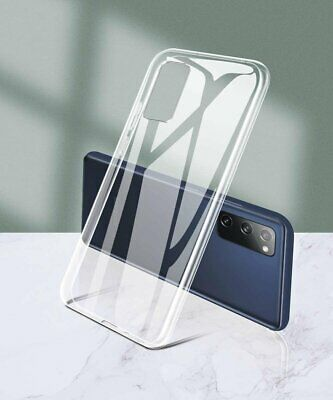 For Samsung Galaxy S20 FE 5G Case Clear Shockproof Flexible TPU Protective Cover