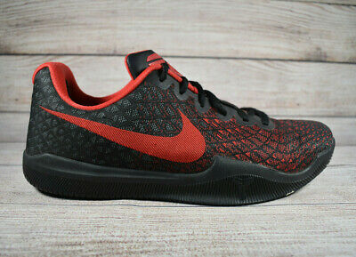 Nike Kobe Mamba Instinct Basketball Shoes Black Red 852473-016 Mens Size 9
