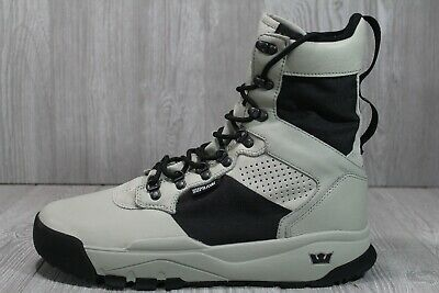 57 SUPRA Stanhope CW Leather Boots Skate Shoes Stone 06373-252-M Mens Size 13M