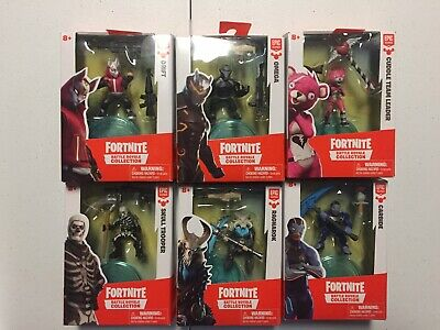 NEW Lot of 6 Fortnite Battle Royale Collection Figures