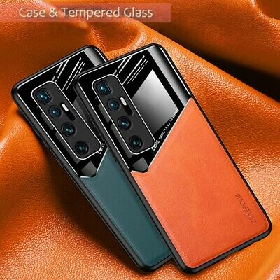 For Xiaomi Mi 10T Pro Luxury Magnetic Hybrid Leather Acrylic Camera Case Cover