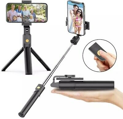 🇺🇸Extendable Selfie Stick Tripod for any cell- Bluetooth Remote- FREE SHIPPING