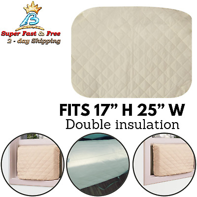 Indoor Window Air Conditioner Cover Double Insulation Up To 17 H And 25 W NEW