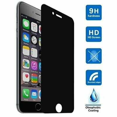 Privacy Tempered Glass Screen Protector for iPhone 7 8 Plus 11 12  X XS Pro Max