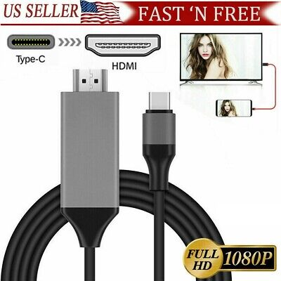 MHL USB Type C to HDMI 1080P HD TV Cable Adapter For Android LG Samsung Motorola