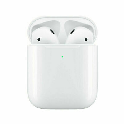 Apple AirPods 2nd Generation w Wireless Charging Case Bluetooth Headphone White