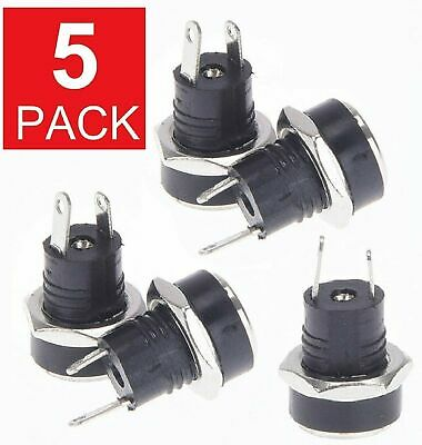 5x  5-5mm x 2-1mm DC Power Supply Female Jack Socket Panel Mount Connector M81