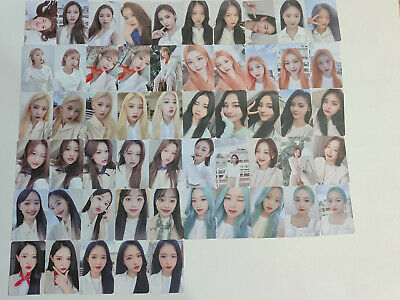 Loona 2021 Seasons Greetings Official photocard set