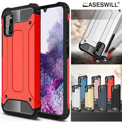For Samsung Galaxy A02S Case Heavy Duty Armor Hybrid Shockproof Protective Cover