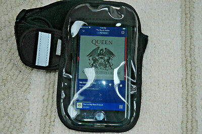 Arm Band carrier for IPOD cell phone wallet etc-