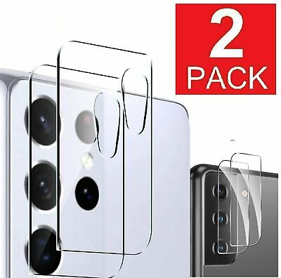 For Samsung Galaxy S21 Plus S21- Ultra 5G Camera Lens Tempered Glass Protector