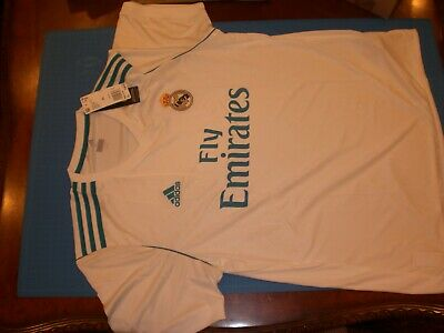 ADIDAS REAL MADRID JERSEY 201718 HOME ADULT XL