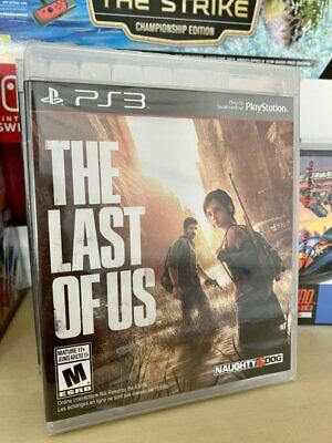 THE LAST OF US Ps3 Sealed VGA Ready US Version Factory Sealed
