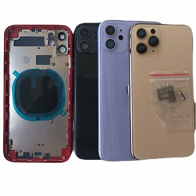 Back Housing Glass Cover Frame Assembly For iPhone 8 Plus X XS Max XR 11