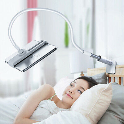 360º Lazy Bed Gooseneck Desk Mount Stand Holder For iPad Galaxy Android Tablet