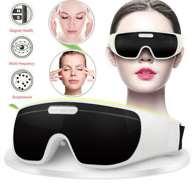 Electric Eye Massager Magnetic Vibration Pain Relieve TemplEye Fatigue Machine