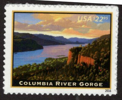 U-S- - 5041 - Columbia River Gorge - EXTRA FINE - Never Hinged