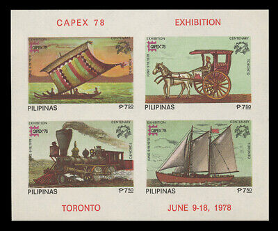 WHOLESALE - PHILIPPINES STAMPS - SC-1350e F-VF NH x 3 IMPERFORATE SHEETS
