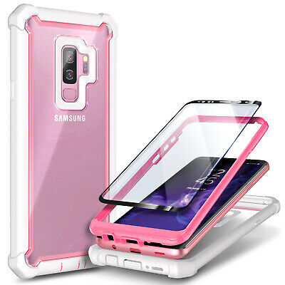 For Samsung Galaxy S9  S9 Plus Case Full-Body Hybrid Cover - Screen Protector