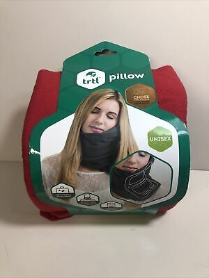 Trtl Travel Neck Pillow Neck Support Pillow For Travel New Red