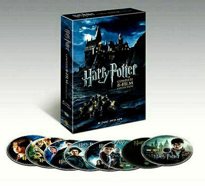 Harry Potter Complete 8-Film Collection DVD 2011 8-Disc Set New US RG1